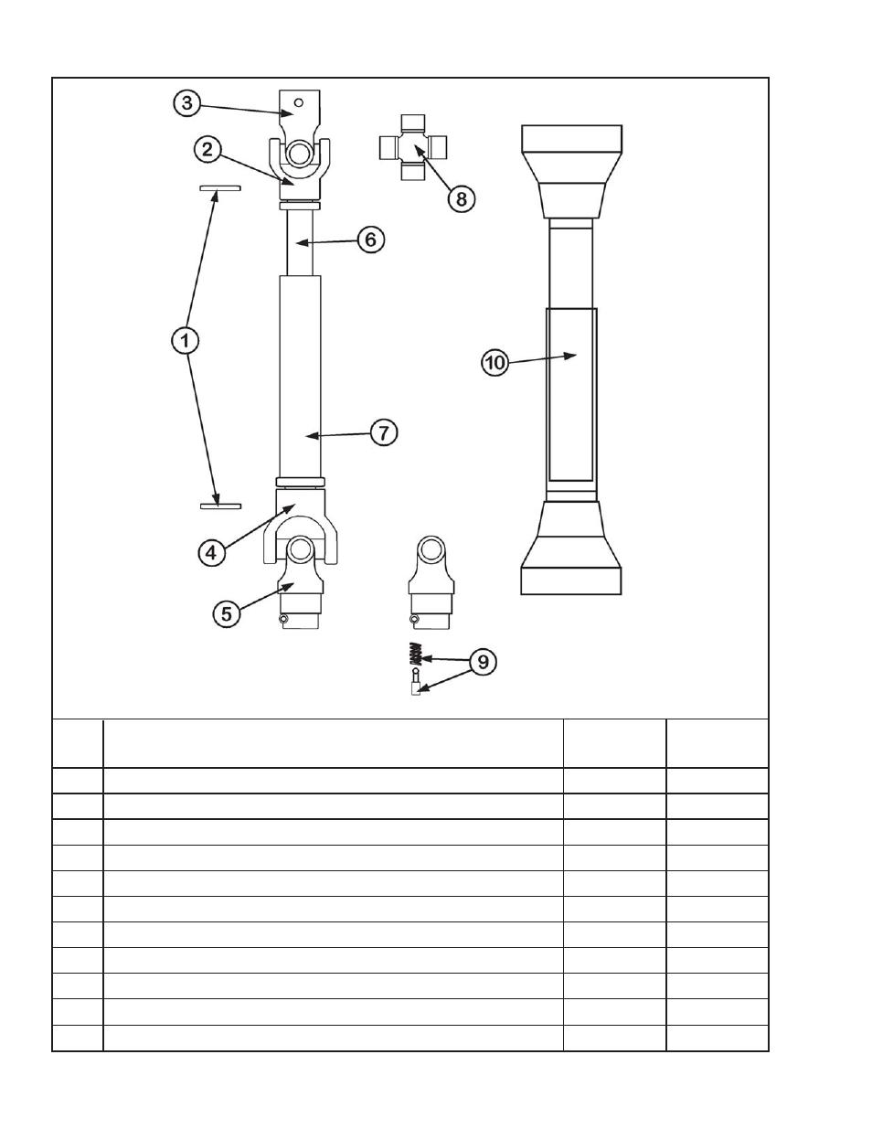 shear pin pto shaft king kutter xb user manual page 16 20 rh manualsdir com king kutter xb manual king kutter manual food processor