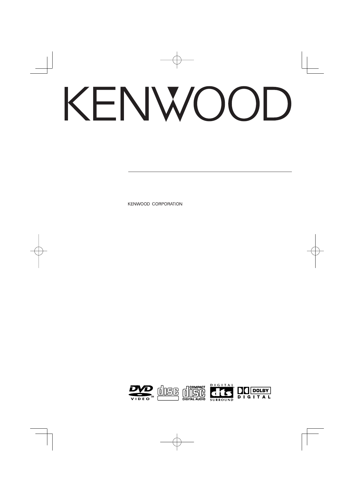 Service Manual - Car Video - Kenwood KDV-MP765, KDV-