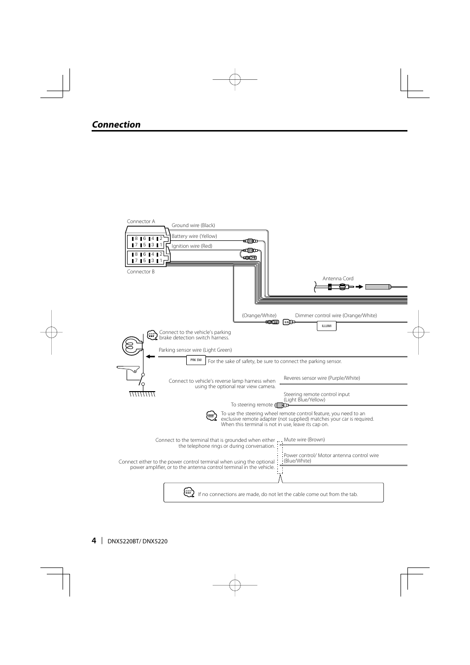 Kenwood Steering Wheel Wiring Diagram Detailed Schematics Amp Connection Dnx5220bt User Manual Page 4 72 Exploded View