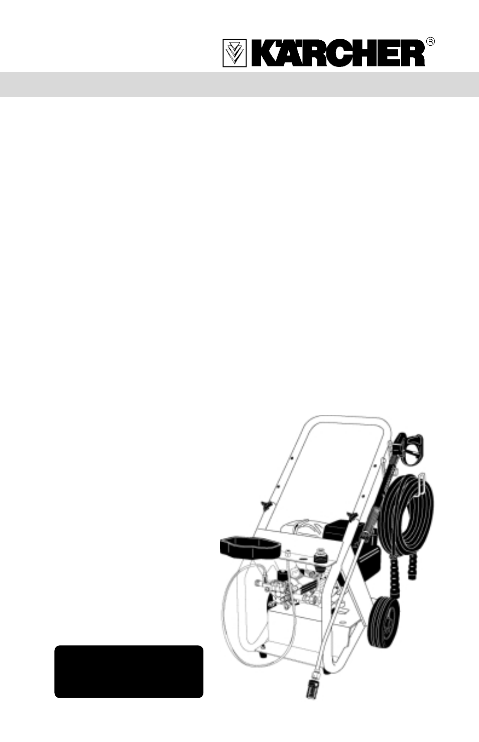 Karcher K 2400 Hb User Manual 12 Pages Also For G Hh Craftsman Pressure Washer Wiring Diagram Hd 2500 Hk