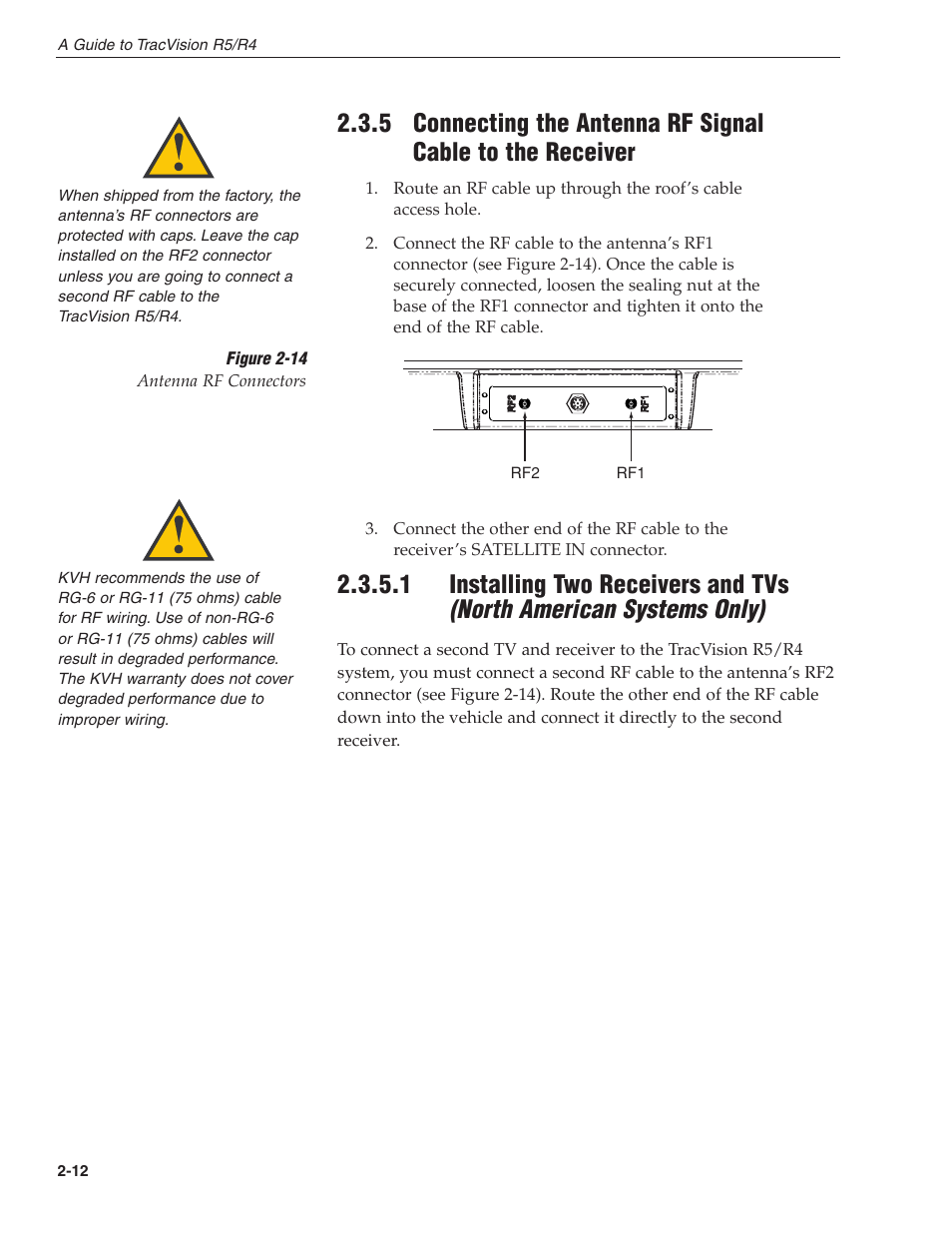 kvh industries tracvision r4 user manual page 23 65 also for rh manualsdir com