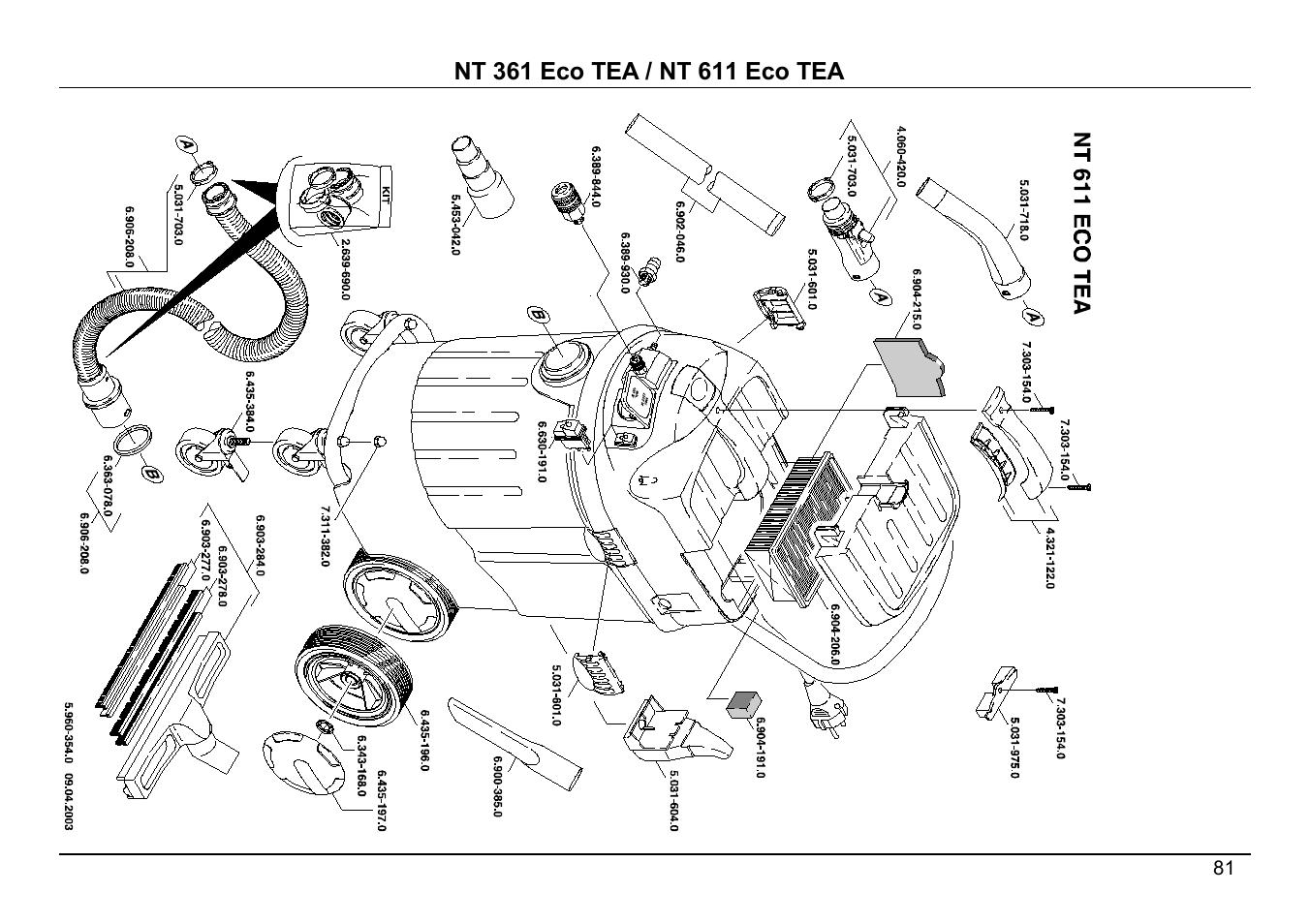 karcher eco tea nt 361 user manual