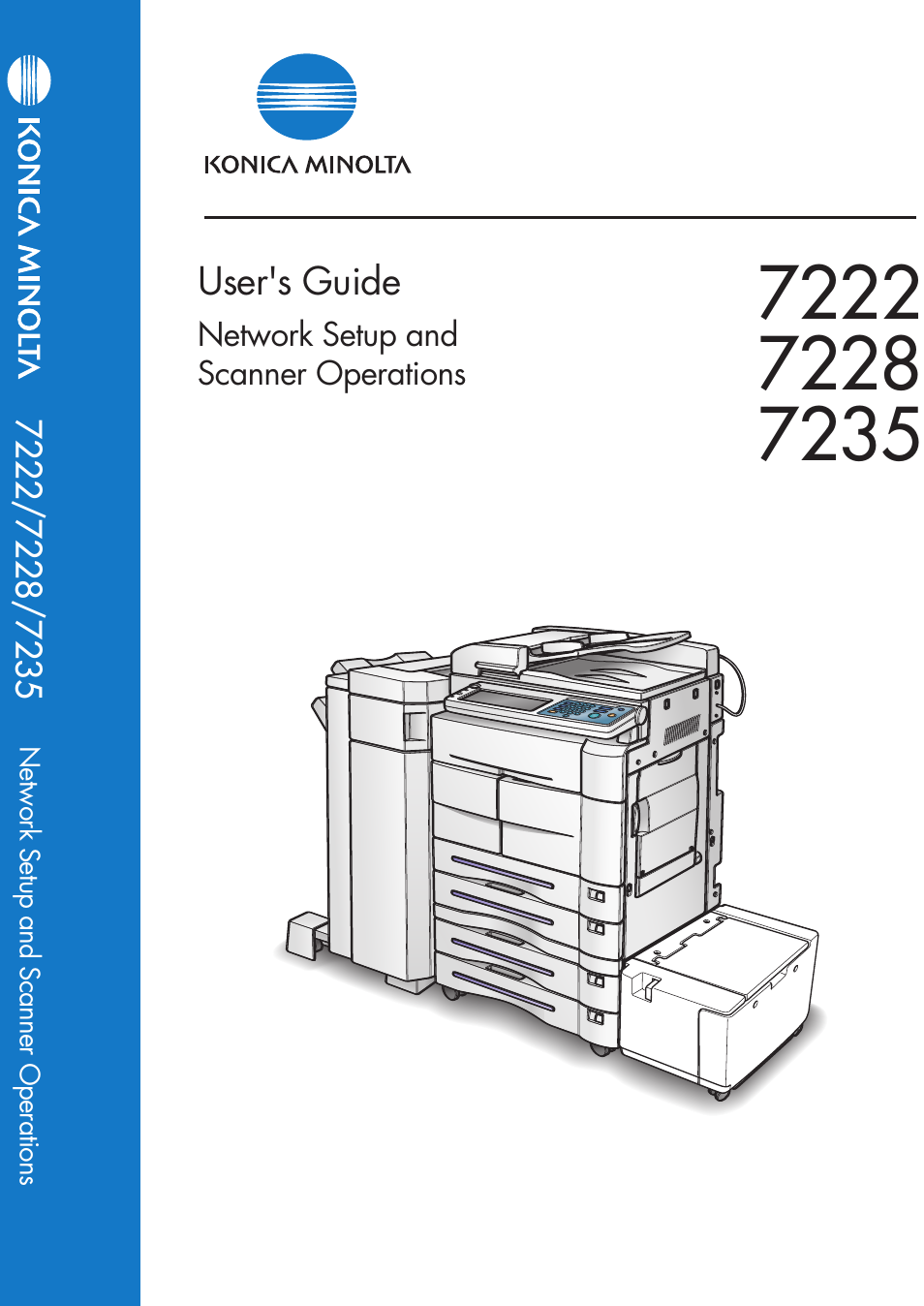 konica minolta 7235 user manual 230 pages also for 7222 7228 rh manualsdir com  konica minolta 7222 parts manual