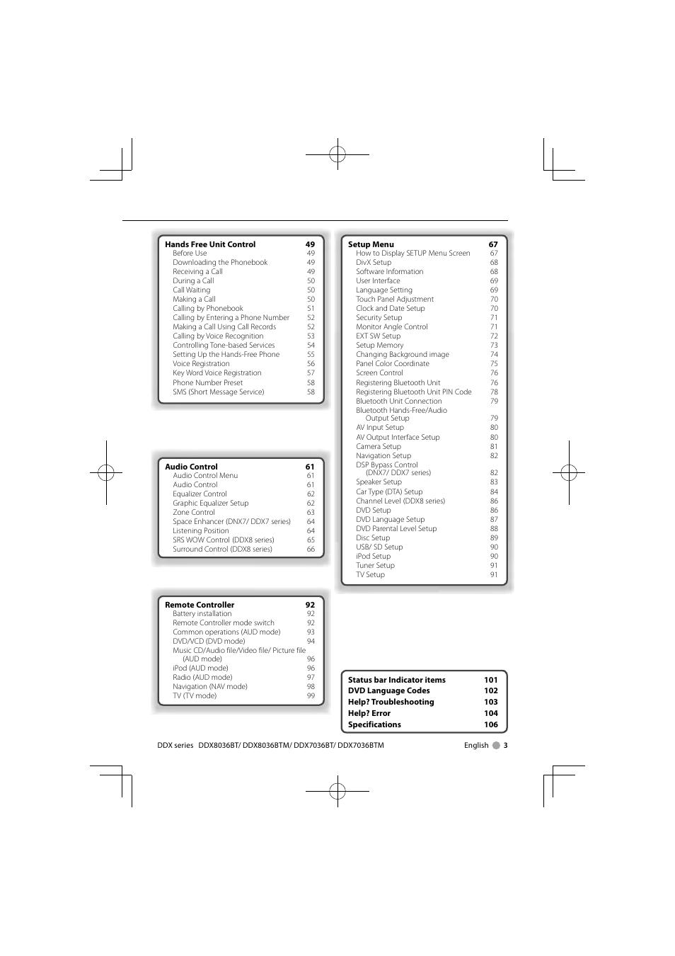 kenwood dnx7360btm user manual page 3 112 original mode also rh manualsdir com Instruction Manual Example Instruction Manual