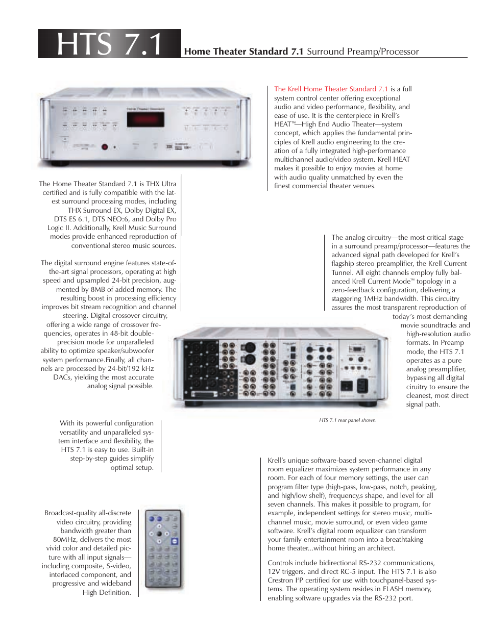 Krell service manuals & schematics pdfs on dvd huge collection.
