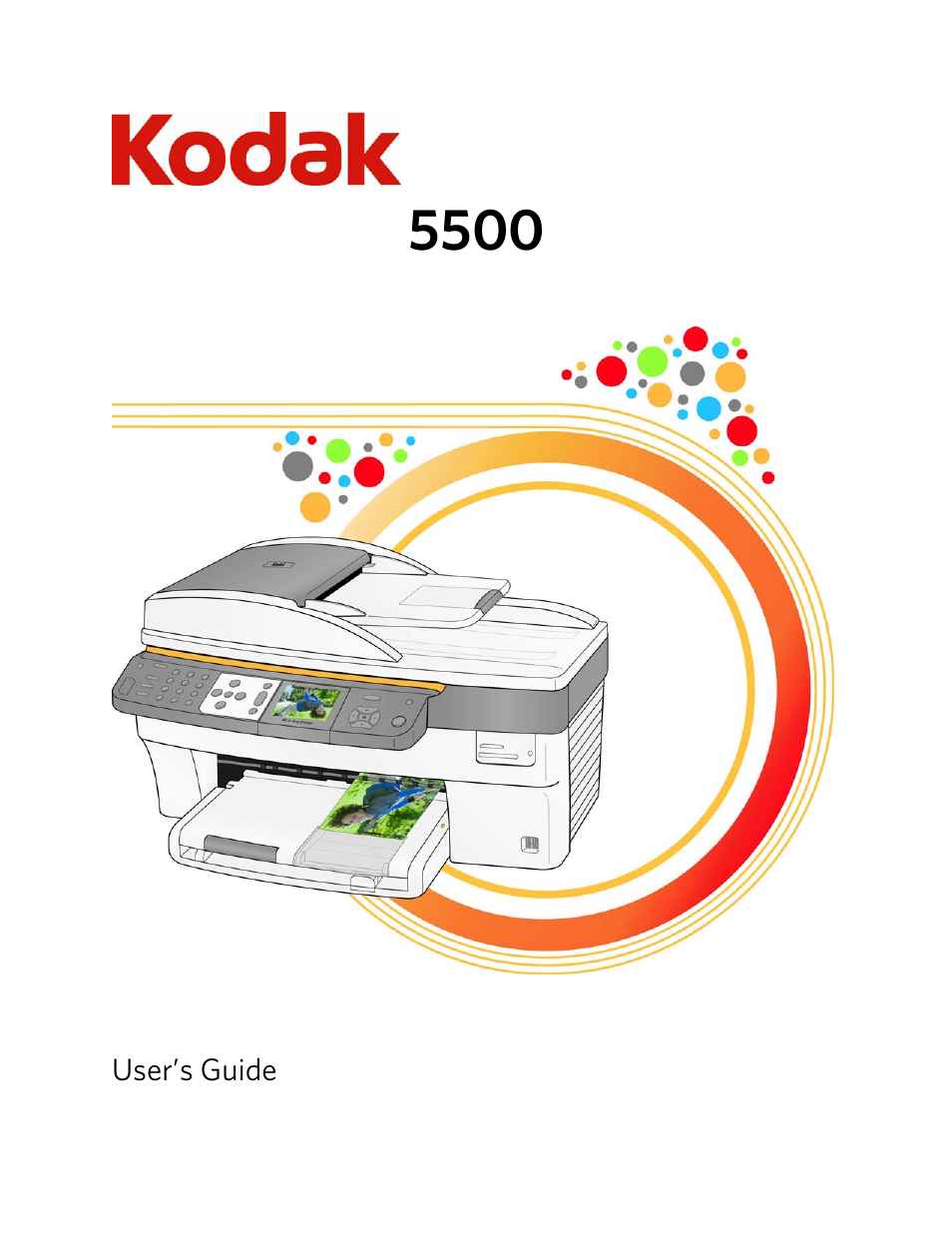 kodak easyshare 5500 user manual 122 pages rh manualsdir com Kodak EasyShare Z612 Manual Kodak EasyShare 5100 Printer Service Manual