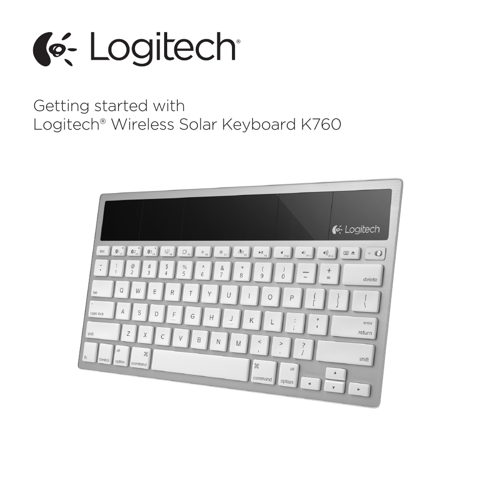 logitech k760 user manual 12 pages rh manualsdir com logitech solar keyboard folio manual logitech solar keyboard mac manual