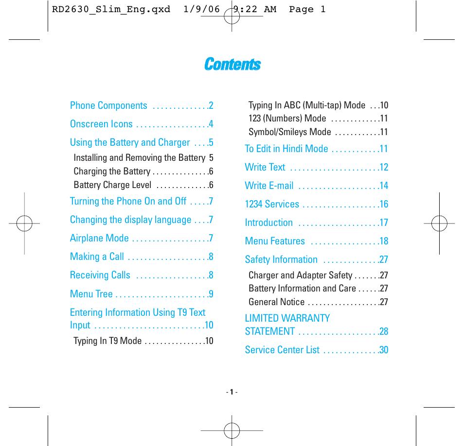 2006 Dodge Charger Owner Manual Symbols Car Owners 1969 Fuse Box Diagram Cco On Ntte En Nttss Lg Rd2630 User Page 3 68 Rh Manualsdir Com 2005 Magnum Black