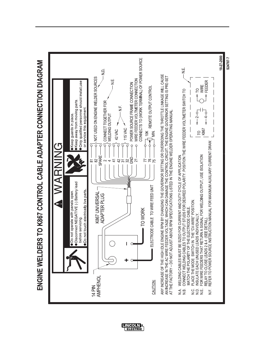 diagrams lincoln electric vantage 575 user manual page 40 54 audio harness  schematic 2000 lincoln ls