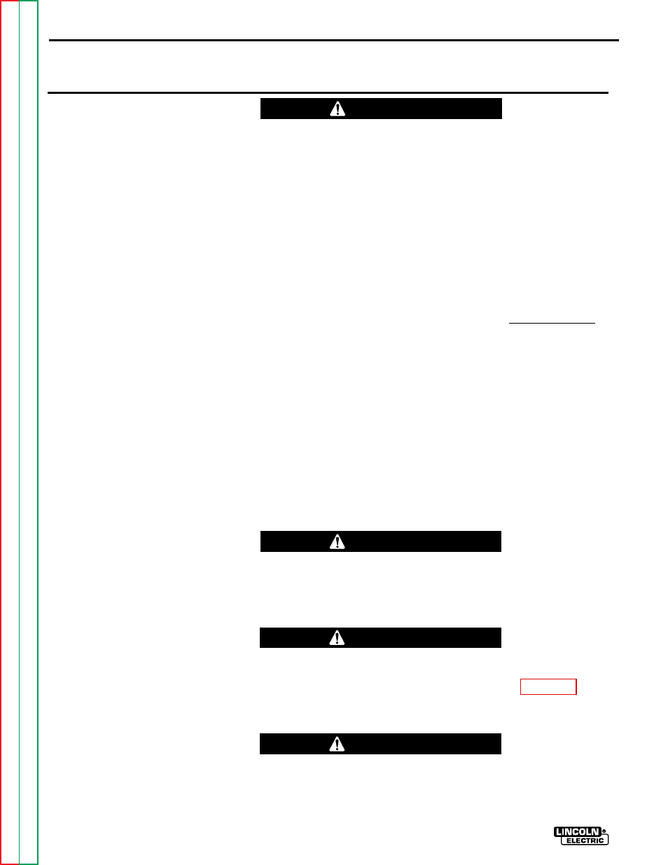 Troubleshooting Repair How To Use Guide Caution Lincoln Electric Welder Wiring Diagram Square Wave Tig 255 Svm100 A User Manual Page 42 100