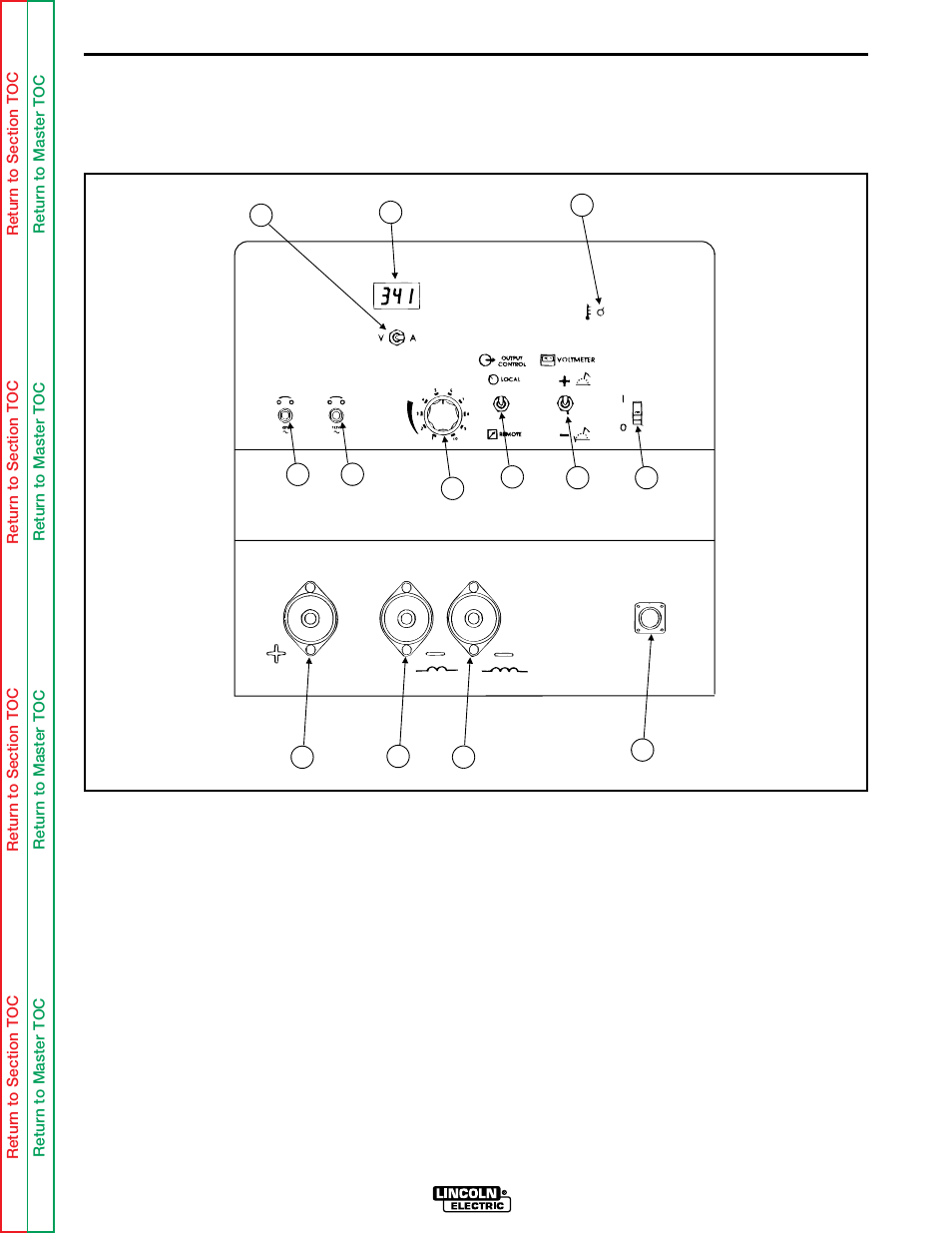 Operation Controls And Settings Lincoln Electric Idealarc Cv 300 Welder Wiring Diagram User Manual Page 20 112