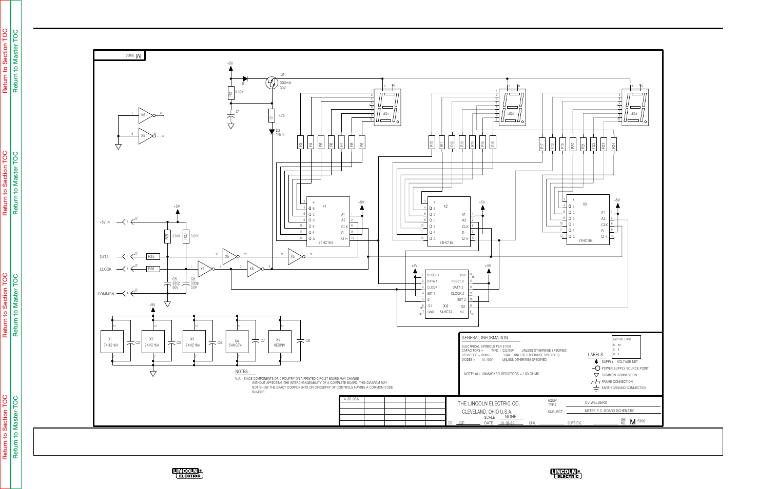 Electrical diagrams, G-12 | Lincoln Electric IDEALARC CV-300 User Manual |  Page 99 / 112