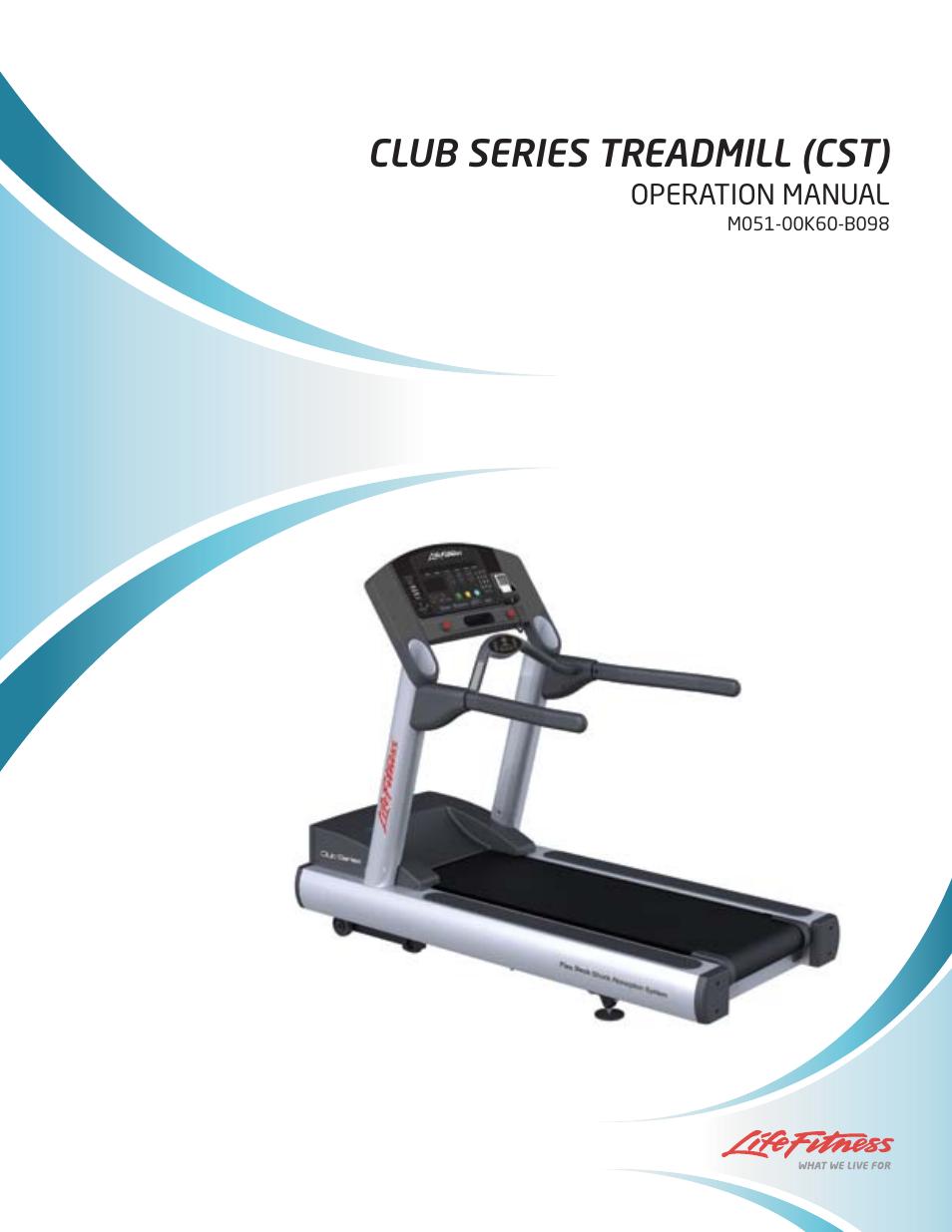 life fitness club series treadmill user manual 50 pages rh manualsdir com life fitness integrity series treadmill user manual life fitness treadmill manual 95t