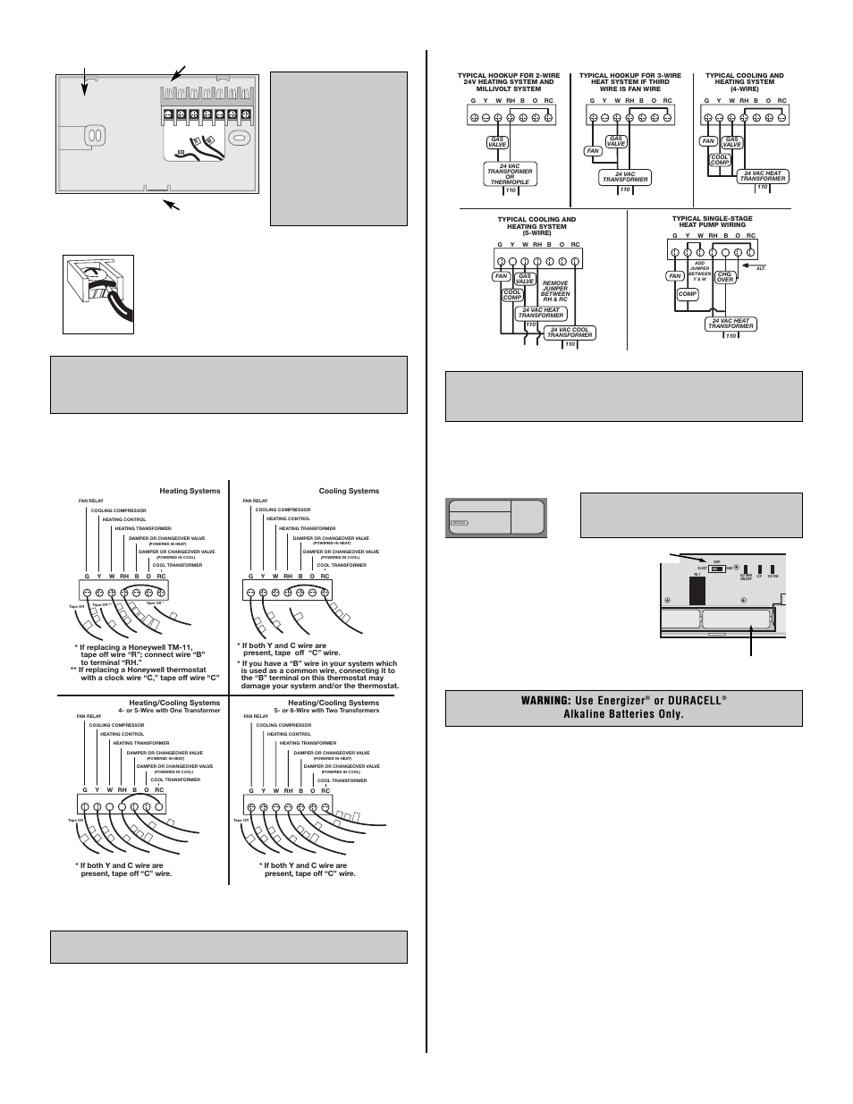 Tx1500_eng_pg2.pdf, Wiring diagrams, N o t e | Lux Products SMART ...