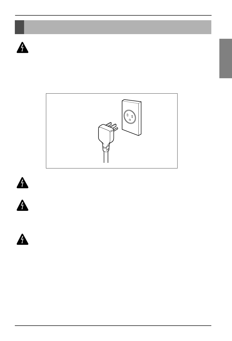Electrical Safety Lg Lhd65ebl User Manual Page 9 32 House Wiring