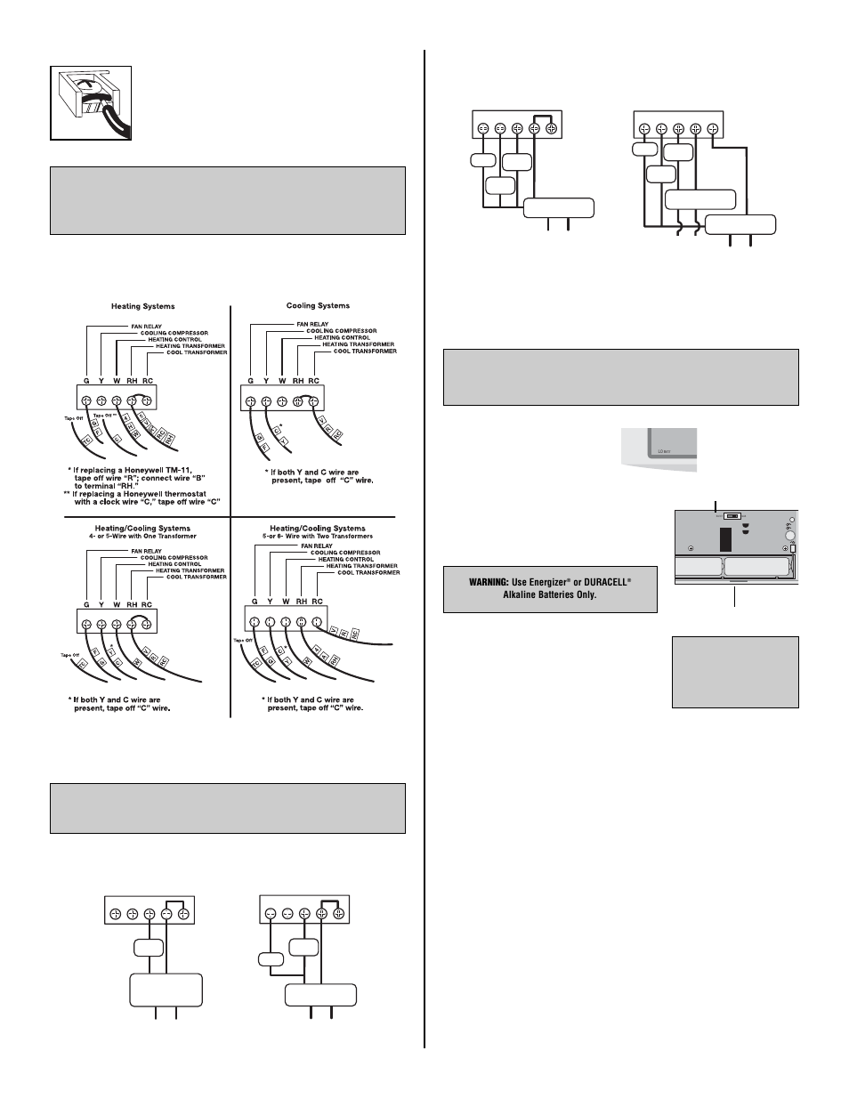 Lux Products Tx500b User Manual
