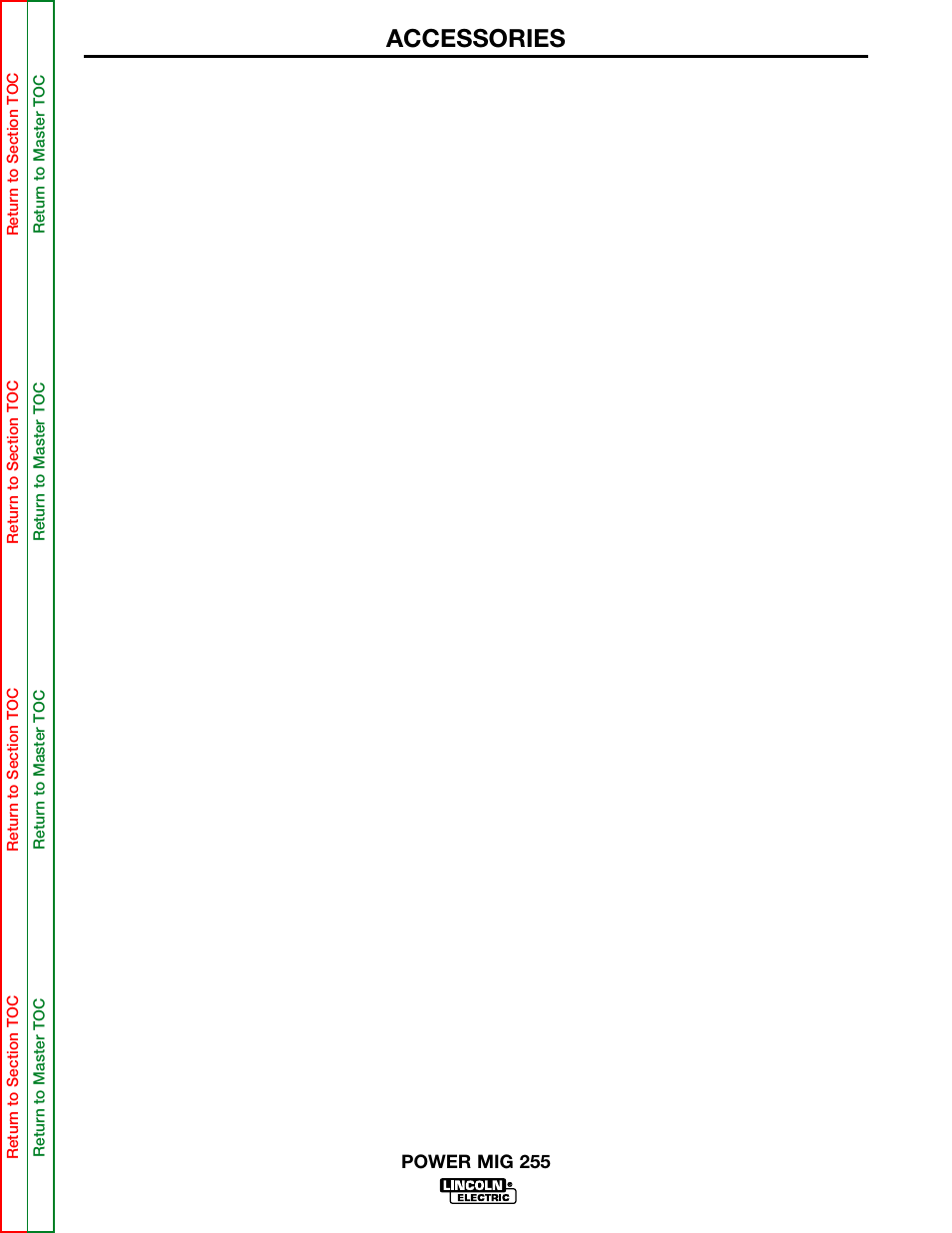 Described in operating instructions for timer kit, Accessories