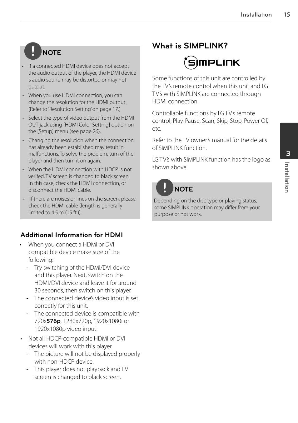 What is simplink | LG BD678N User Manual | Page 15 / 72