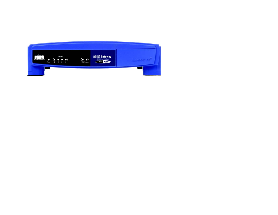 The front panel | Linksys AG241 User Manual | Page 15 / 80