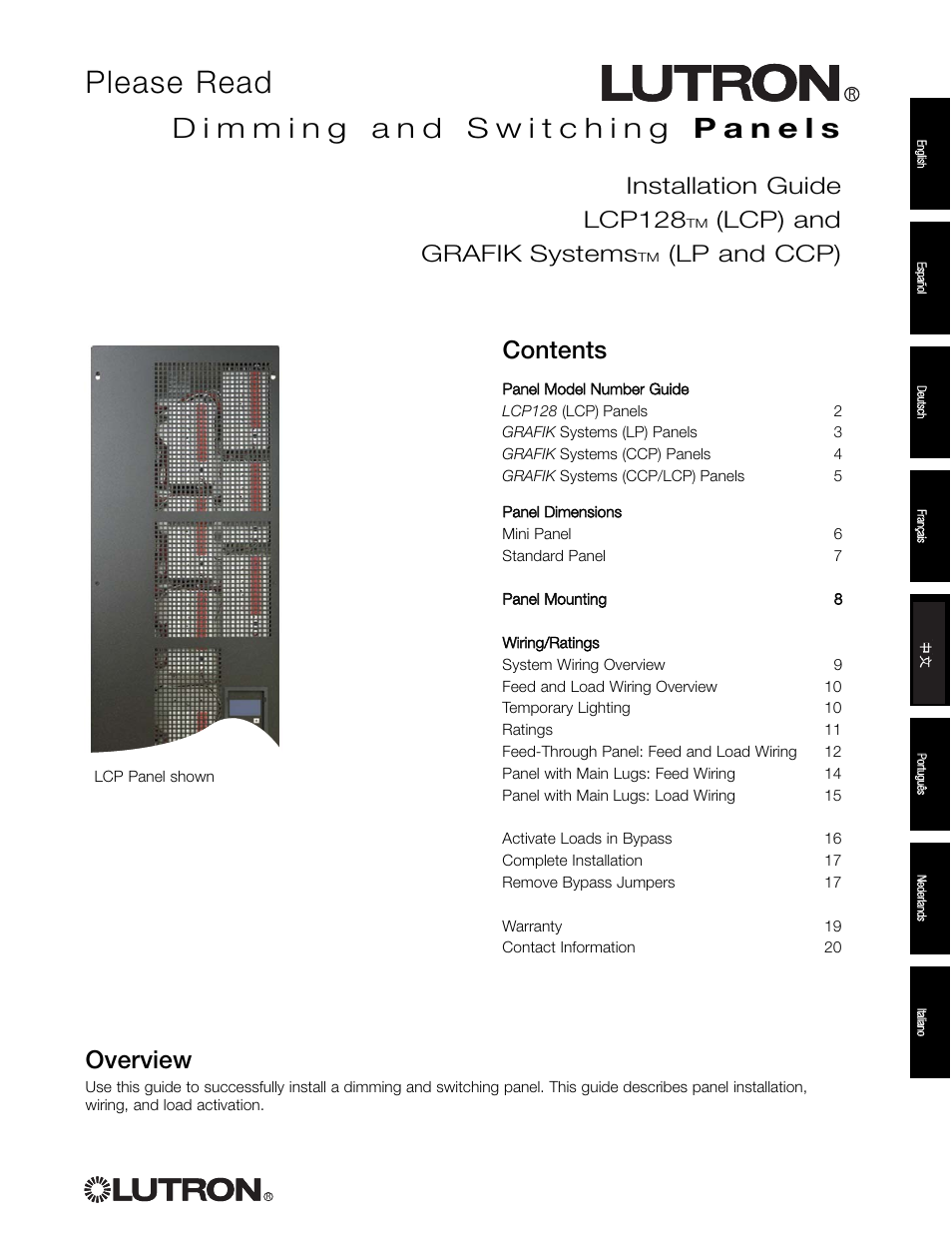 lutron electronics lcp128 page1 lutron electronics lcp128 user manual 20 pages lp wiring diagrams at gsmx.co