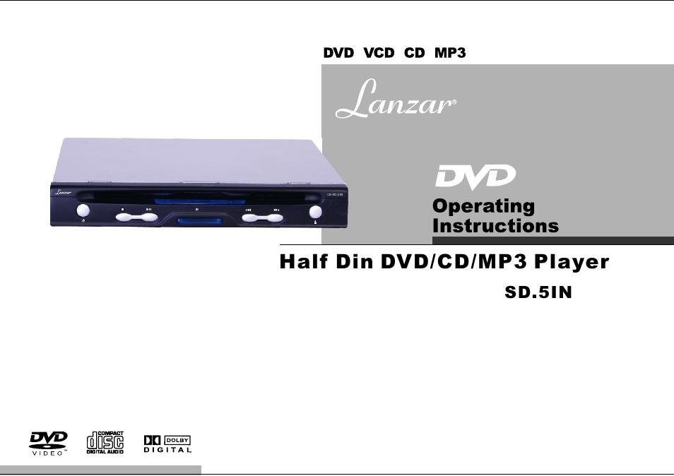 lanzar car audio sd 51n user manual 10 pages rh manualsdir com Lanzar Speakers Lanzar 50C