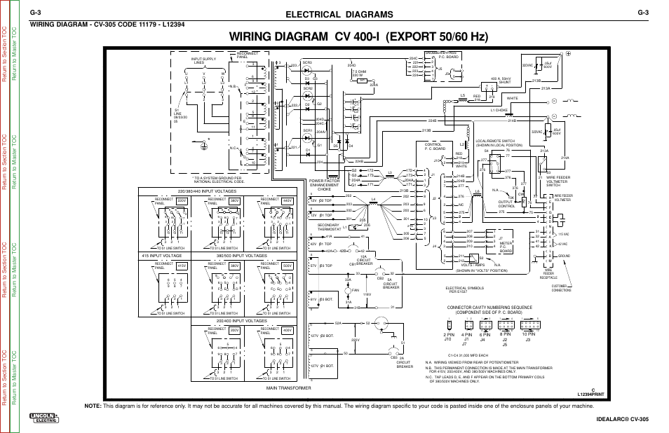 wiring diagram code 11179 l12394 electrical diagrams idealarc rh manualsdir com