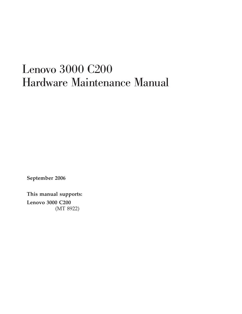 lenovo 3000 c200 user manual 104 pages rh manualsdir com