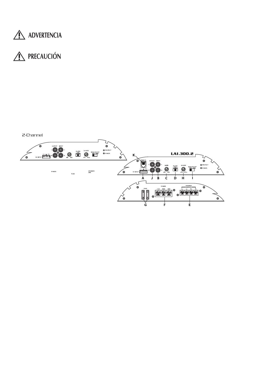 Lightning Audio LA1.300.2 User Manual | Page 19 / 28
