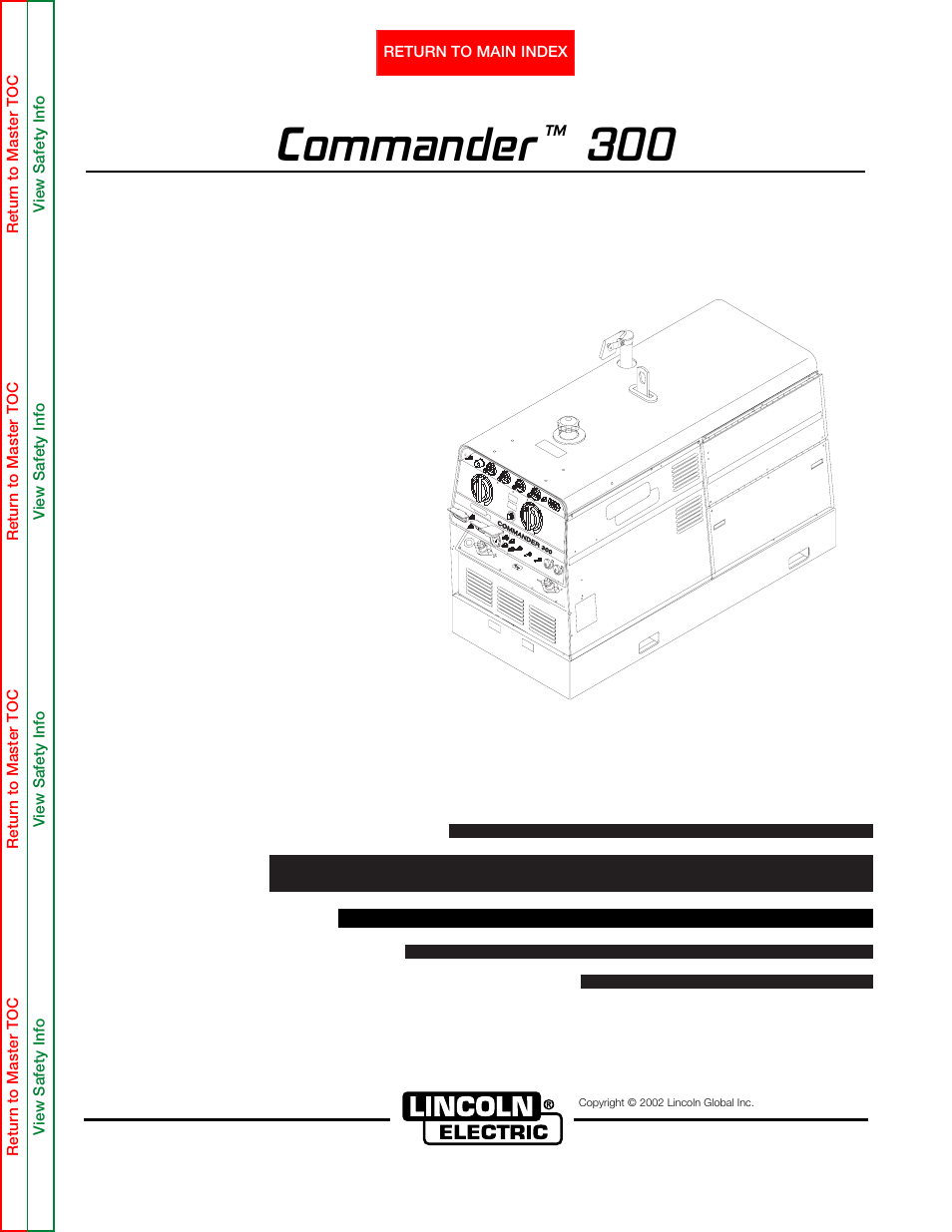 lincoln electric commander svm145 b user manual 175 pages rh manualsdir com
