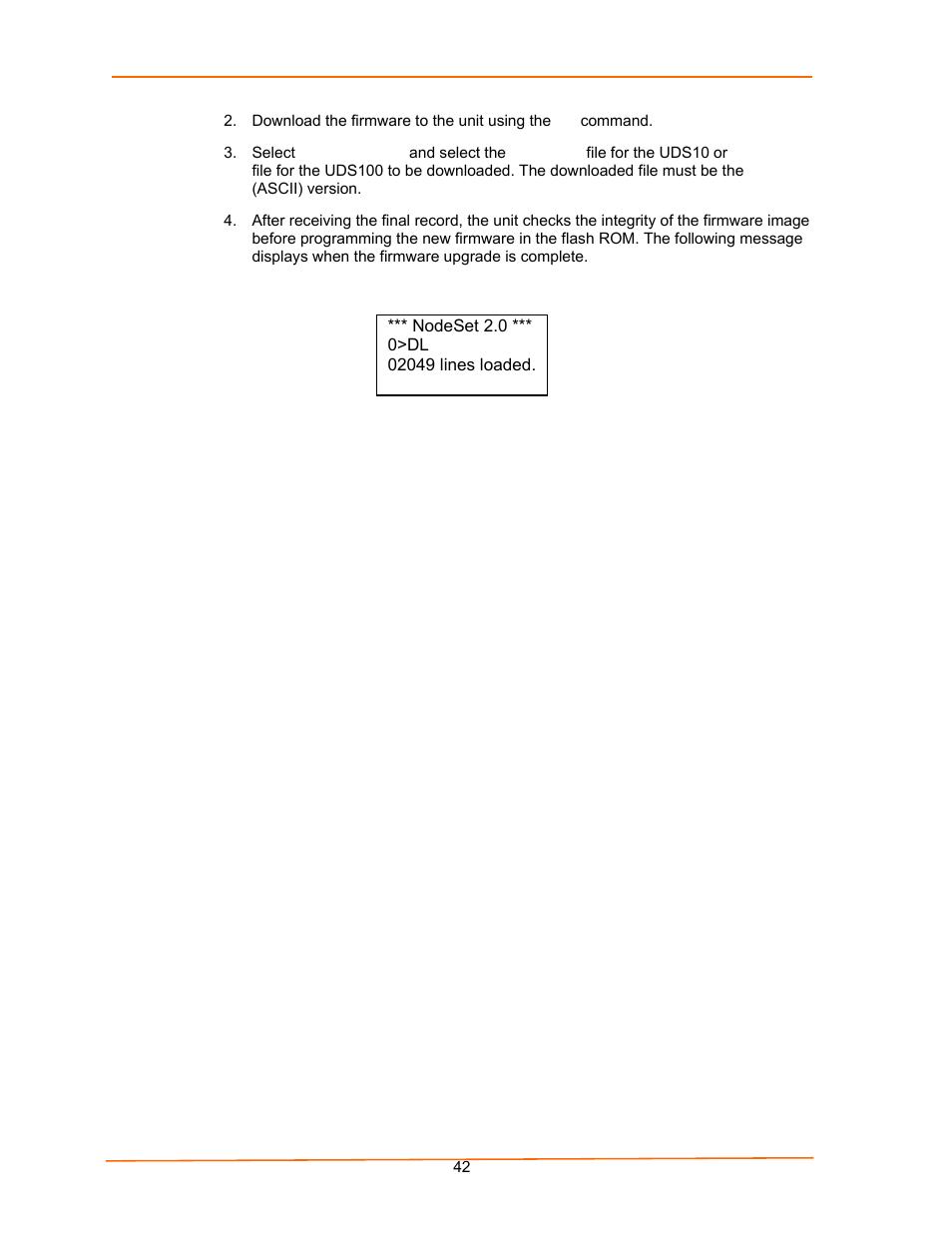 figure 6 3 firmware upgrade screen display lantronix uds100 user rh manualsdir com Example User Guide Clip Art User Guide