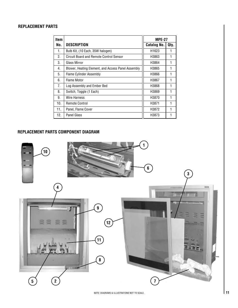 lg mpe 27 user manual page 11 12Bed Cover Replacement Parts Motor Repalcement Parts And Diagram #5