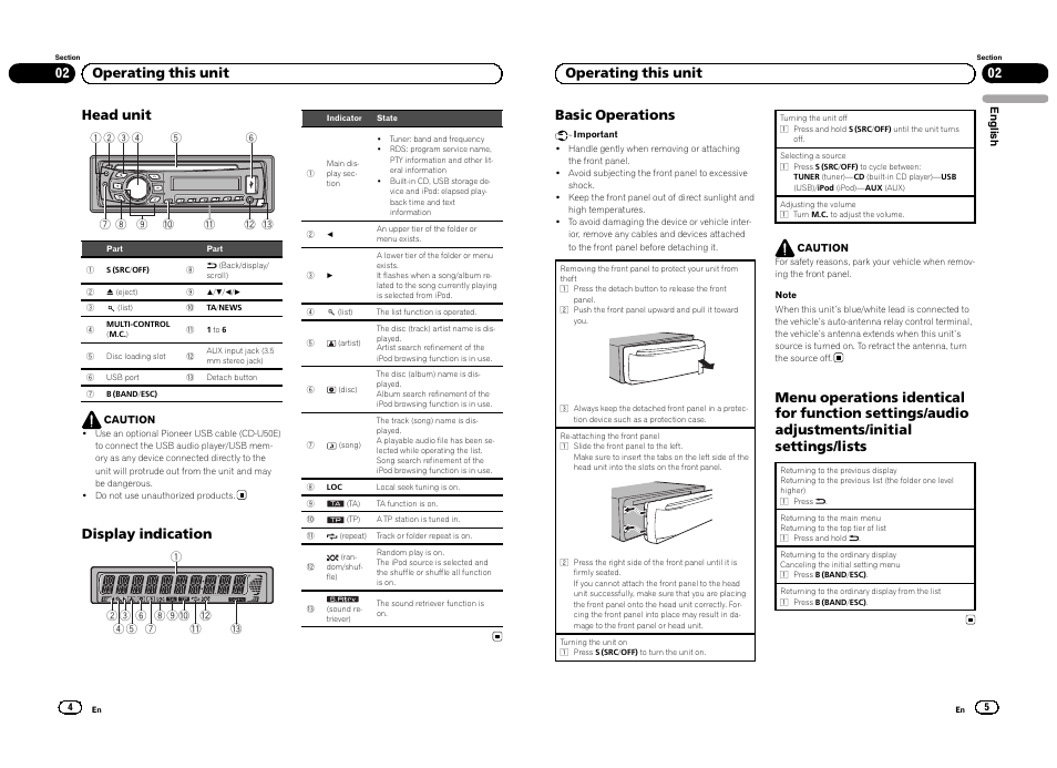 Jvc Head Unit Manual Guide