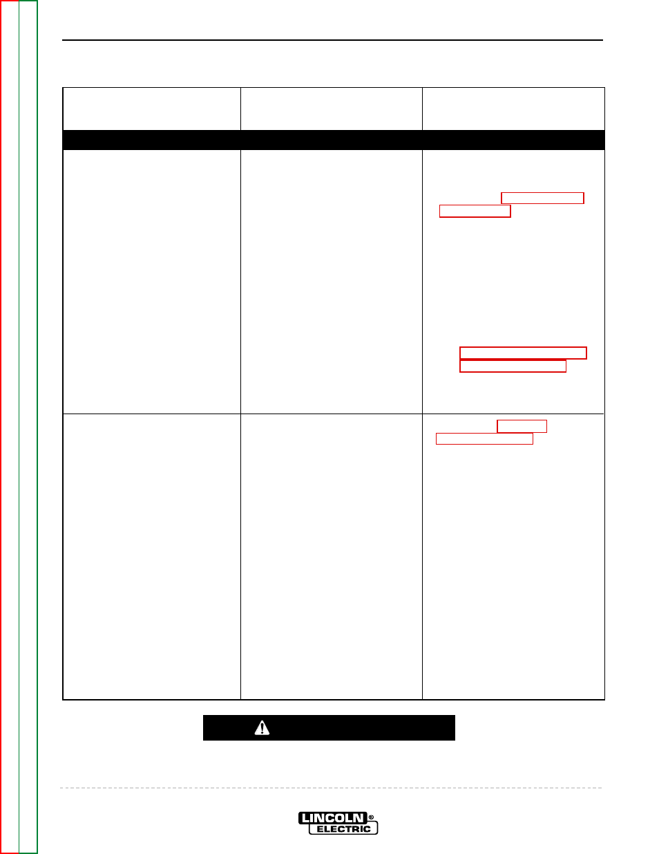 Troubleshooting Repair Caution Lincoln Electric Invertec V350 Welder Wiring Diagram Pro Svm152 A User
