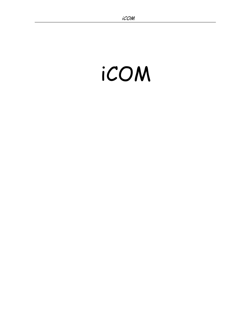 Icom, Icom training & service manual | Liebert iCOM Microprocessor