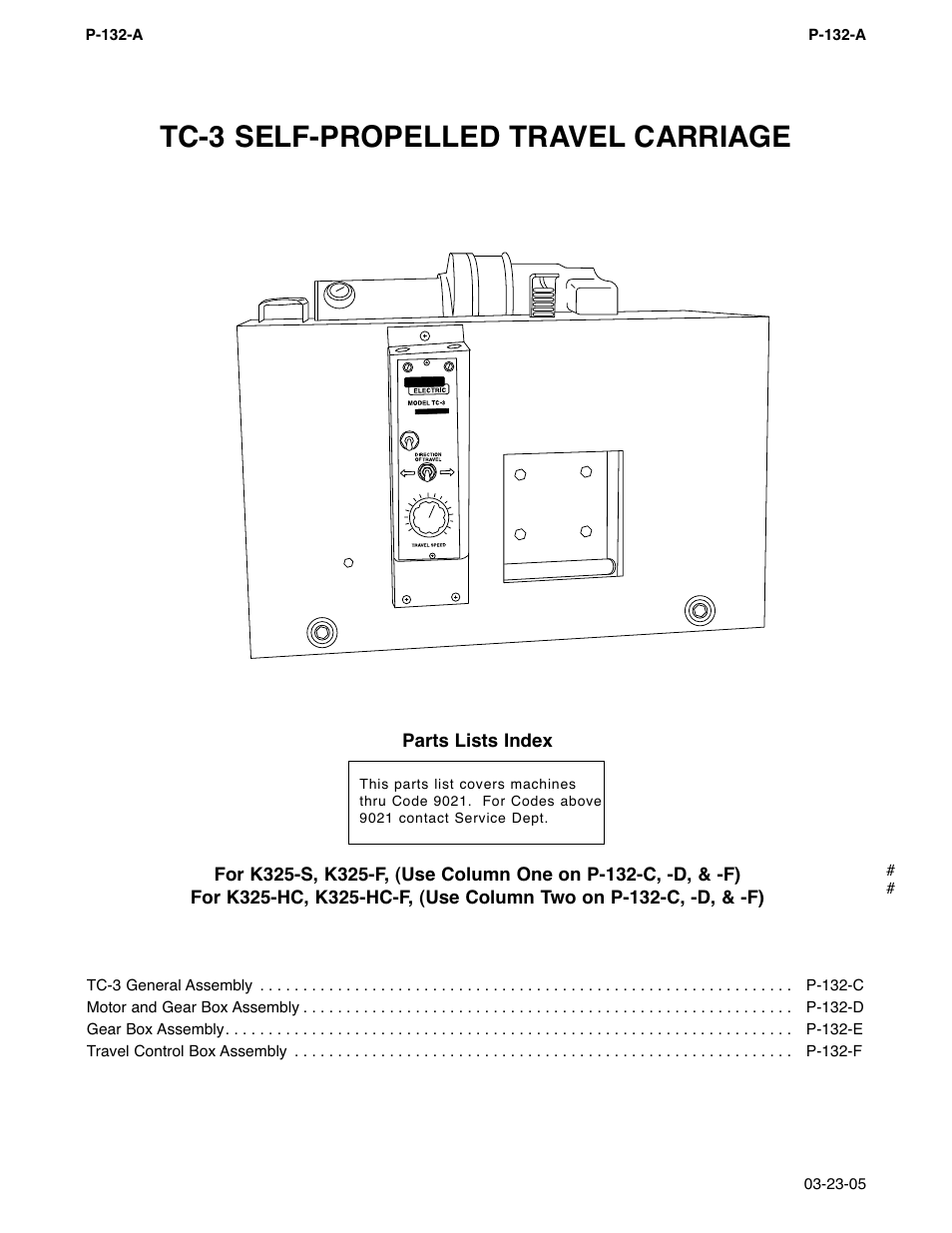 Tc 3 Self Propelled Travel Carriage Lincoln Electric Na 5 Im305 C Welder Wiring Diagram User Manual Page 165 200