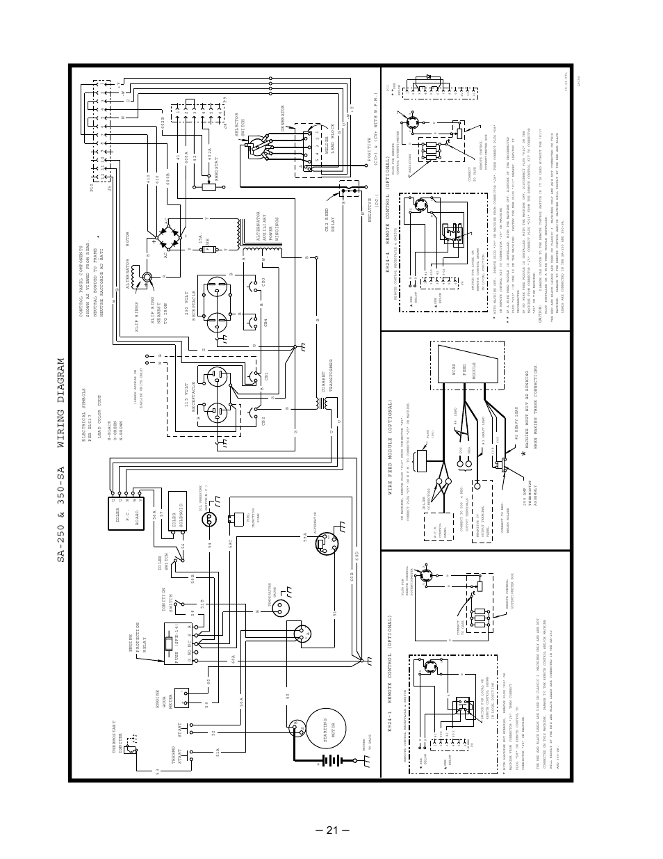 lincoln electric perkins sa 250 page22 lincoln electric perkins sa 250 user manual page 22 28 lincoln sa 250 welder wiring diagram at bakdesigns.co