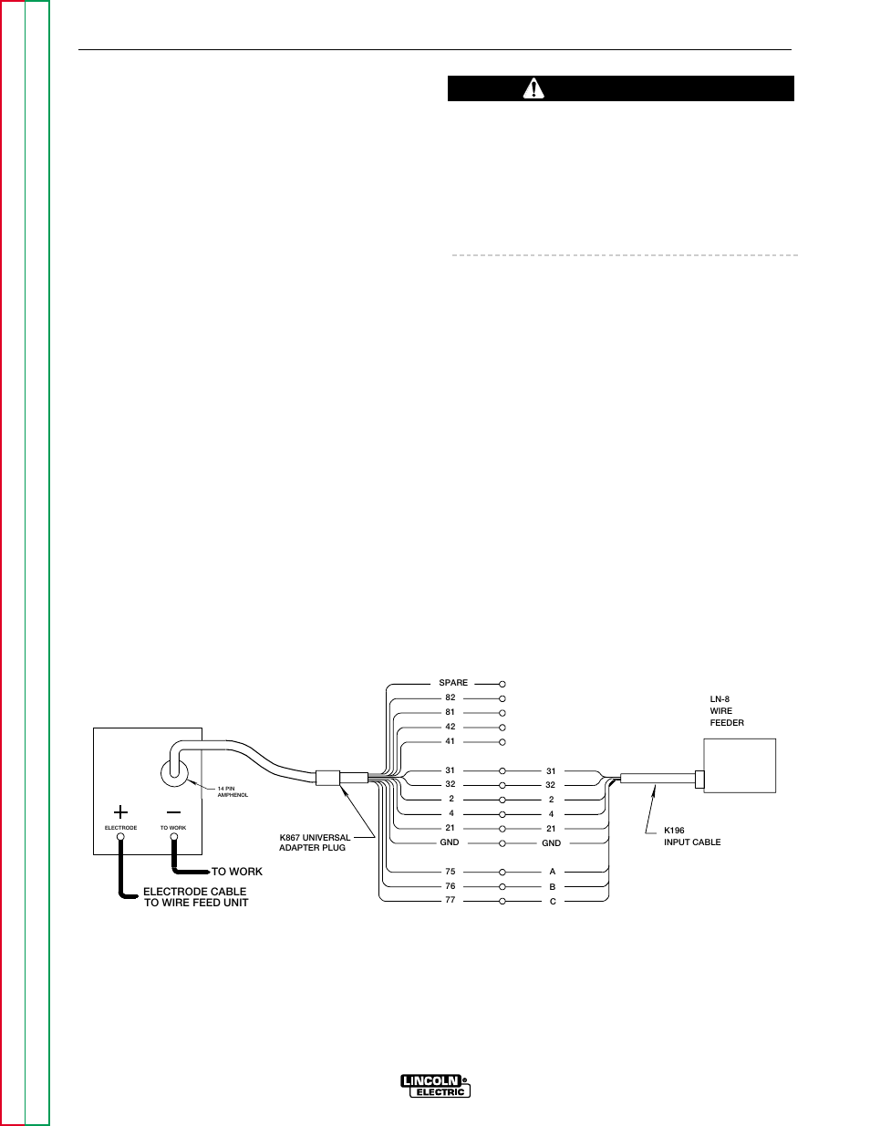 Lincoln 300 Commander Wiring Diagram Posts Electric Welder Library Continental Accessories Caution
