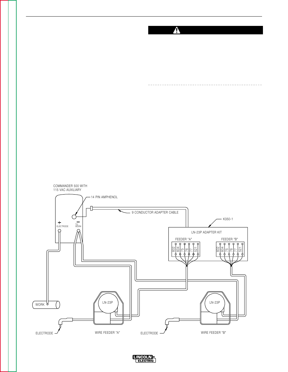For Lincoln Commander 500 Welder Wiring Diagrams Electrical Vantage 400 Diagram Accessories Caution Electric Svm153 A User