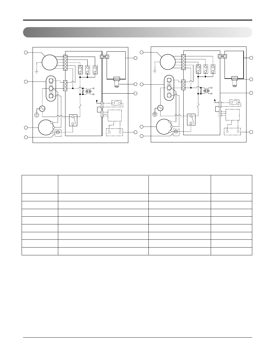 Wiring diagram, 20 room air conditioner schematic diagram | LG L1804R User  Manual | Page