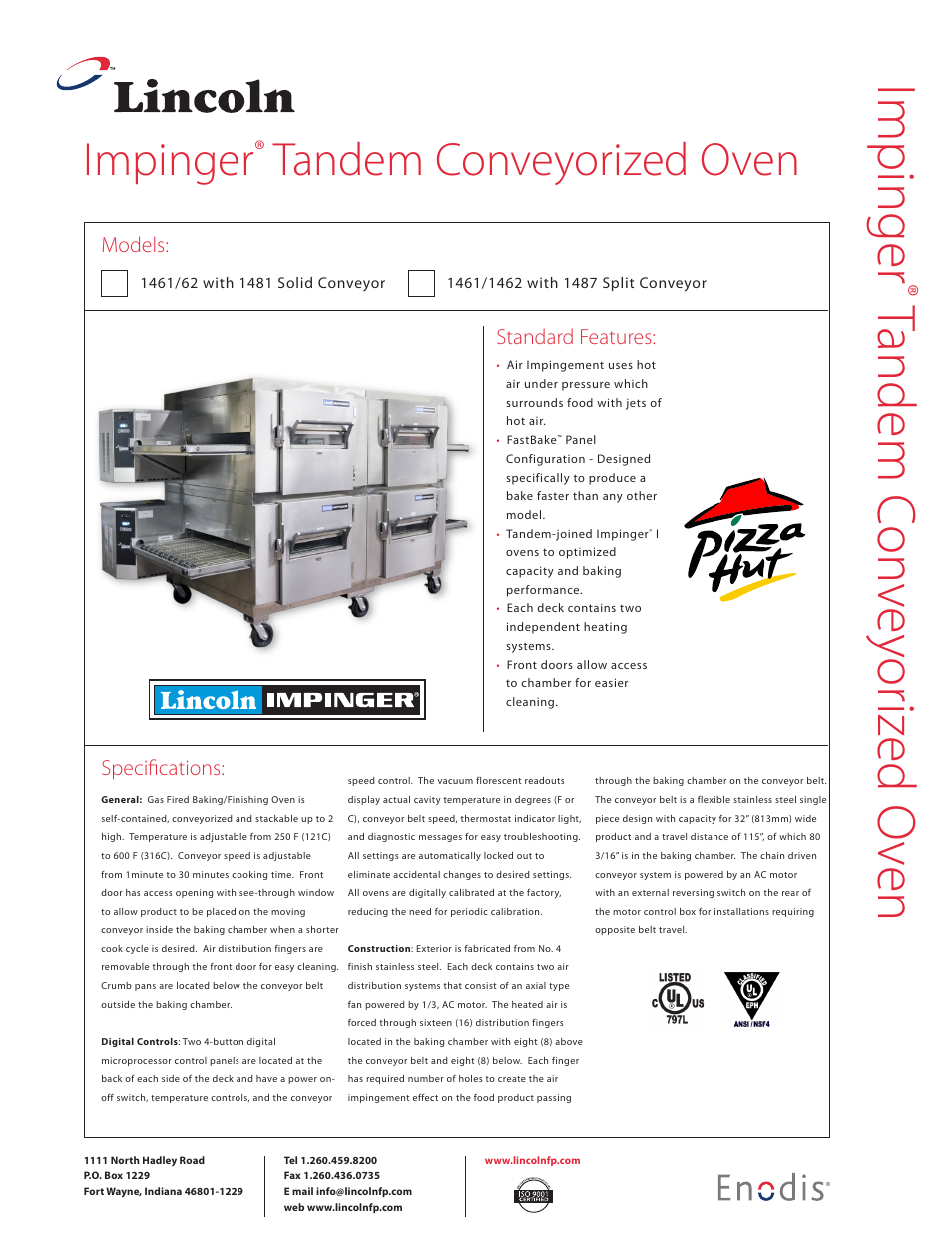 lincoln impinger tandem conveyorized oven 1461 62 user lincoln heater core replacement lincoln impinger wiring diagram #12
