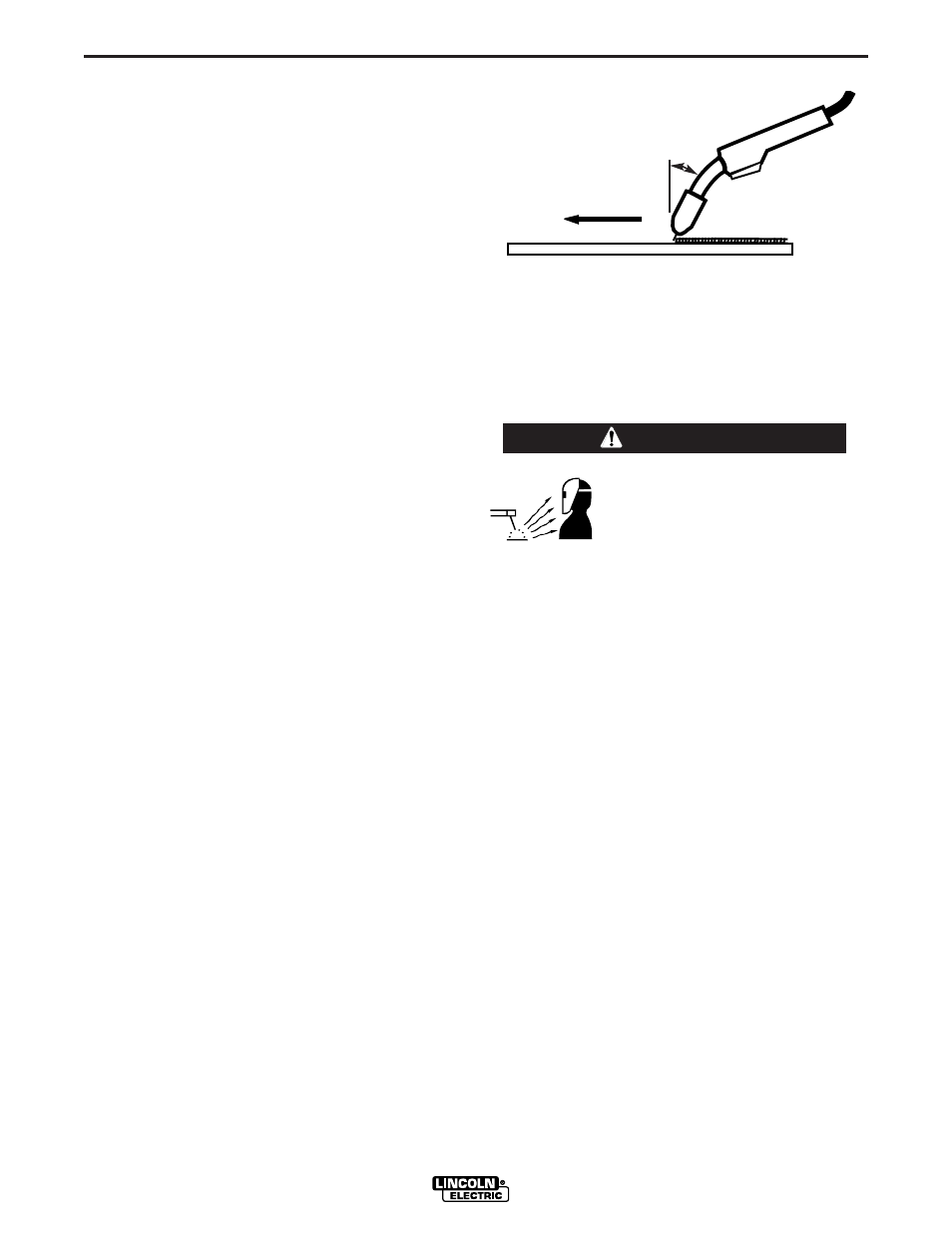 Learning To Weld Warning Lincoln Electric Ltw1 User Manual Page 030 Welding Wire Also With Mig Welder Parts Diagram 10 36