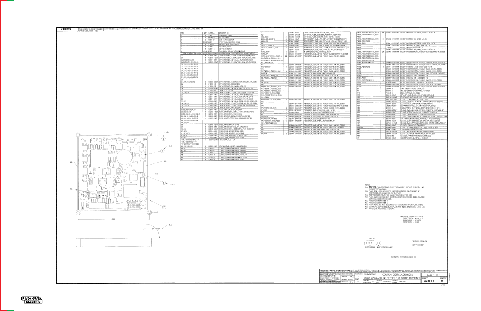 Electrical diagrams | Lincoln Electric POWER MIG SVM165-A User