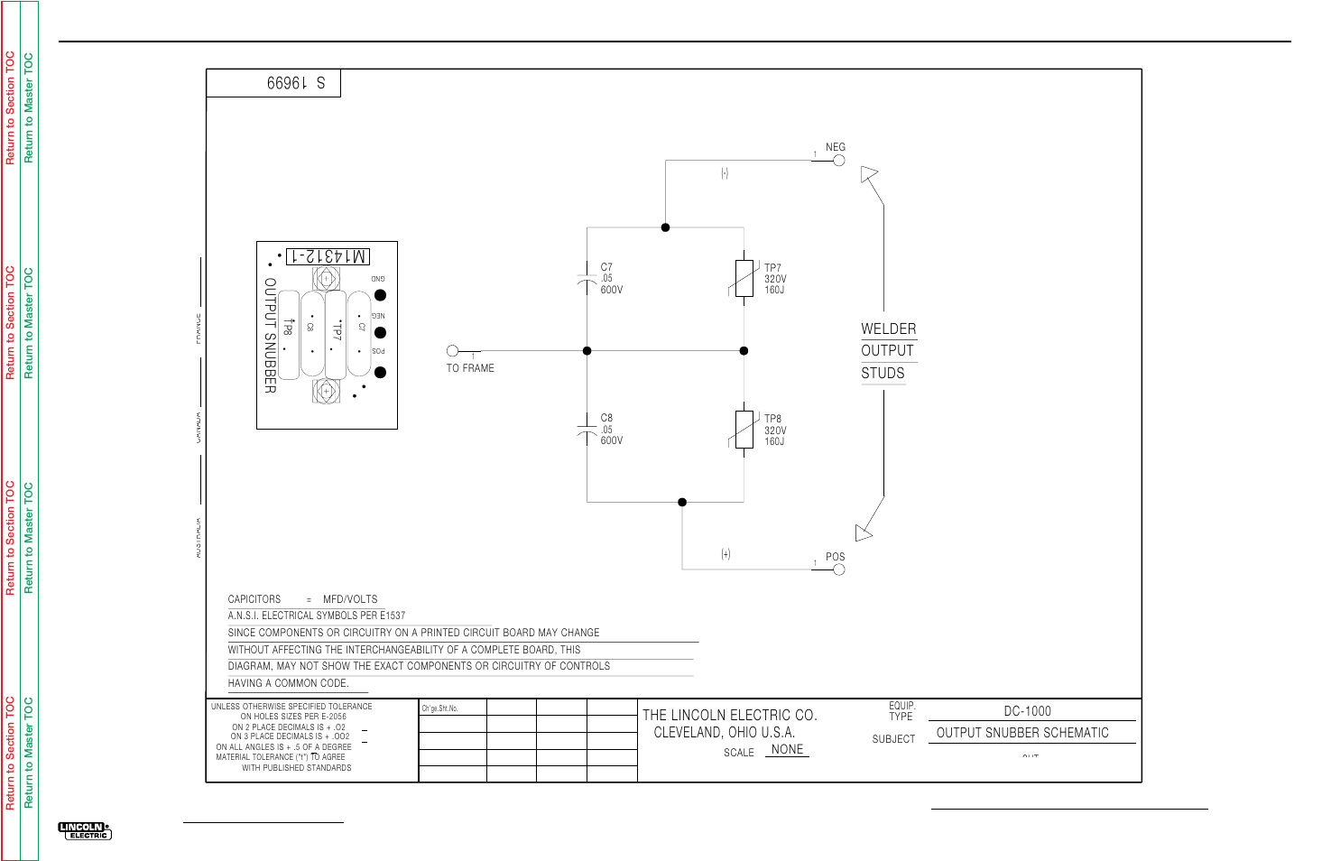 Electrical Diagrams Lincoln Electric Idealarc Dc 1000 Svm123 A Common Symbols User Manual Page 113