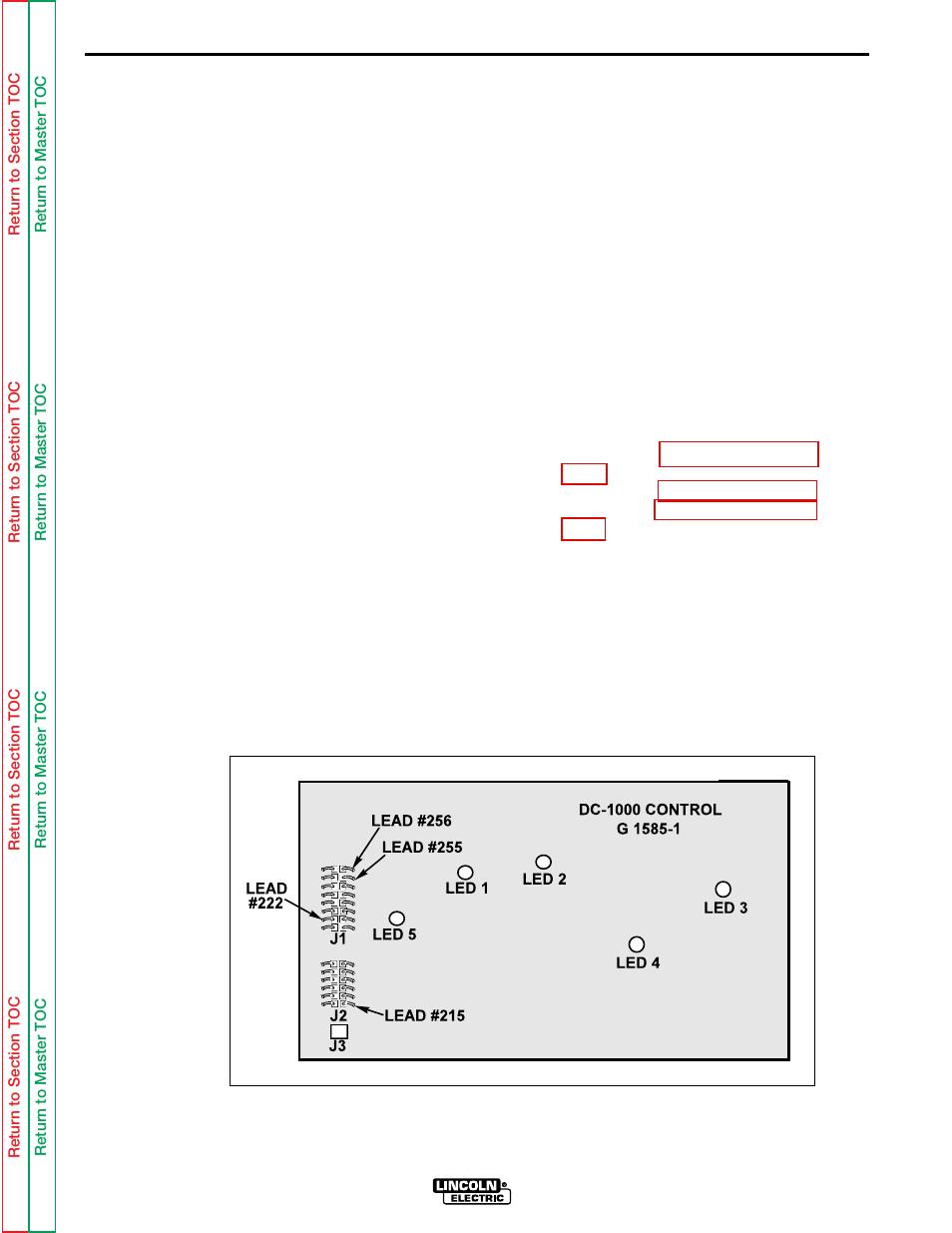 Lincoln Dc 1000 Wiring Diagram Schematics Diagrams 1975 Continental Engine Troubleshooting Repair Control Board Test Electric Rh Manualsdir Com Online 1999 Navigator