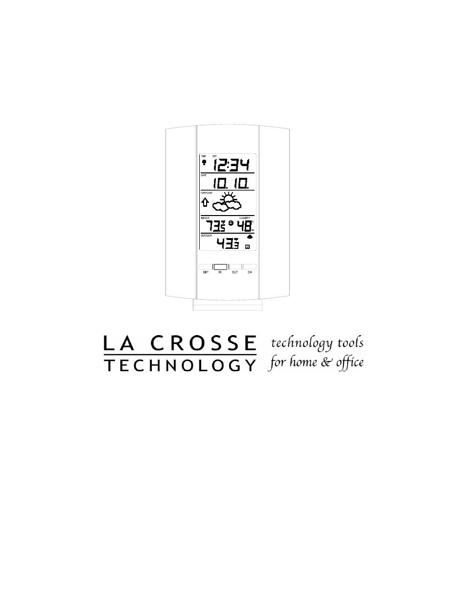 La Crosse Technology WS-7159U User Manual | 22 pages | Also for:  WS-7014U-IT, WS-9228U-IT, WS-9153U-IT