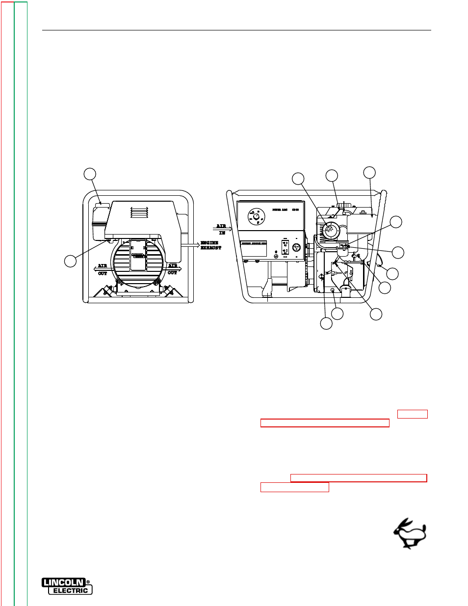 Operation And Maintenance Sections Of This Figure B2 120 240 Volt Receptacles How To Install A Switch Or Receptacle Gasoline Engine Controls Lincoln Electric Power Arc 4000 Svm103 User Manual Page