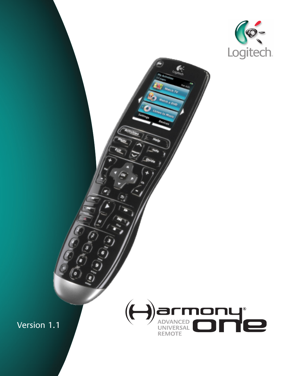 logitech harmony one user manual 40 pages rh manualsdir com logitech harmony one instruction manual logitech harmony one instruction manual