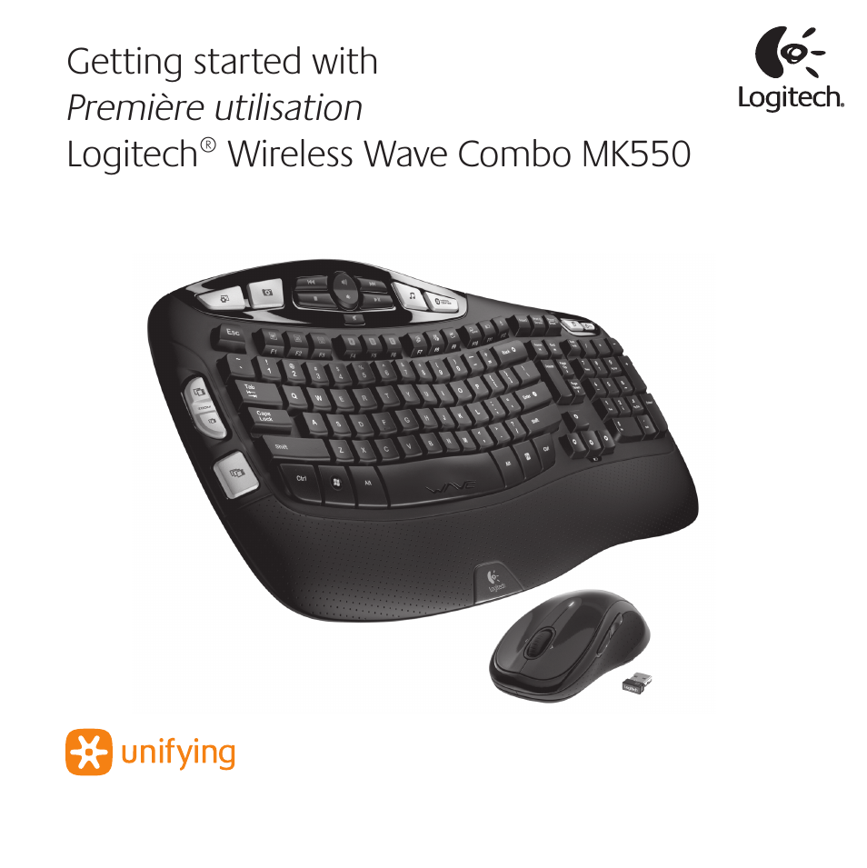 logitech wireless wave combo mk550 user manual 52 pages. Black Bedroom Furniture Sets. Home Design Ideas