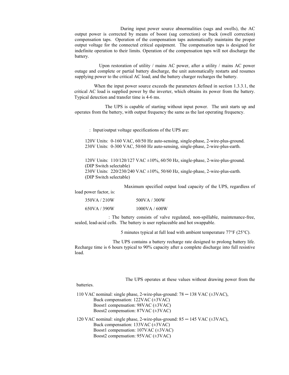 liebert powersure psa 350va to 1000va user manual page 2 8 rh manualsdir com Insidous 3 Insidous 3 Ending