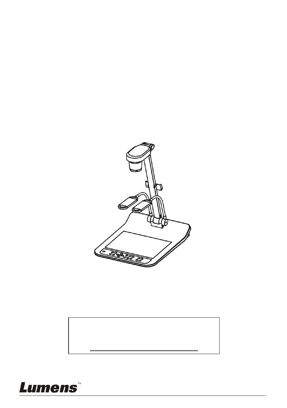 Lumens Technology PS750 User Manual | 45 pages